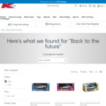 Back to The Future Delorean Collectible Cars: $15 ($20 RRP) Each @ Kmart