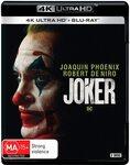 Joker 4K+Blu-Ray $20, Blu-Ray $12.50 + Post ($0 with Amazon Prime/ $39 Spend) @ Amazon AU