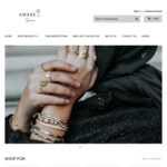 30% off Fine Sterling Silver Jewellery ($10 Delivery, Free over $100 Spend) @ Amare Gems