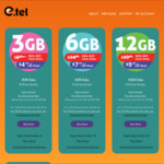 $9.95/Mth 3GB Data Unlimited Talk/Txt ($4.50 for The First Month) @ E.tel