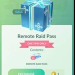 [iOS, Android] 1x Remote Raid Pass for 1 PokéCoin @ Pokémon Go