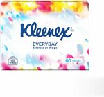 Kleenex Facial Tissue Soft Pack 60 pack $1.21 Delivered (S&S) @ Amazon AU