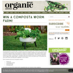 Win 1 of 4 Composta Worm Farm/Gardens Worth $119 Each from Organic Gardener / Nextmedia
