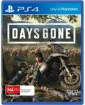 [PS4] Days Gone $22 @ Harvey Norman/Amazon | Days Gone $24, Death Stranding $34 + Del or C&C @ JB Hi-Fi/Amazon