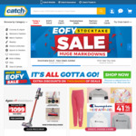 $15 off for Purchases above $60 at Catch