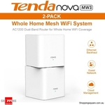 Tenda MW3 Mesh Wi-Fi System 2pk $57.95 (Sold out), Tenda SP3 Smart Wi-Fi Plug $7.95 + Shipping @ Shopping Square