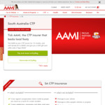 [SA] Register Car with CTP Insurance from AAMI and Get $30 Back as an eGift Card (12mo Reg Required)