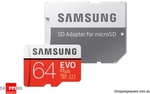 Samsung EVO Plus MicroSD 64GB $12.95 Delivered @ Shopping Square