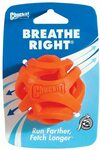 Chuckit! Breathe Right Fetch Ball (Orange, Medium) $8.05 (RRP $16.99) + Delivery ($0 with Prime / $39 Spend) @ Amazon AU