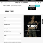 Win 1 of 20 $1,000 Vouchers from Rockwear