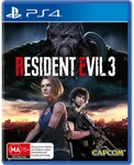 [PS4] Resident Evil 3 $29 + Delivery (Free C&C) @ Big W