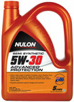 Nulon Semi Synthetic 5W30 Advanced Protection Engine Oil 5L $14.99 (Save $33) @ Autobarn