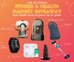 Win 1 of 7 Fitness & Health Gadget Worth $1200 from Gadget User