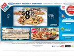 Domino's Traditional Pizza Delivered 3 for $21.95, Online Only, Selected Stores Only