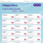 Virgin Australia Happy Hour: Flights from $79 eg Launceston <> MEL, MEL <> ADL $95, SYD <> MEL $99 and more @ Virgin Australia