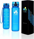 [Prime] Leak Proof Motivational Water Bottle with Time Markings $19.79 Delivered @ Rivermount via Amazon AU