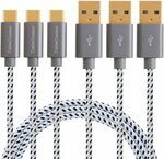 3A USB AM to CM Cable (3*4FT) $9.89, 4-Port USB 3.0 Hub $17.41 + Delivery ($0 Prime) @ Cable Creation Amazon AU