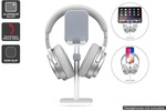 Aluminium Alloy Headphone Stand with Phone & Tablet Holder (Silver) $9.99 (was $59.99) + Shipping ($0 with First) @ Kogan