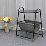 2 Pack Sofa Side Table with Fabric Storage Bag $59.95 Delivered @ metradingco eBay