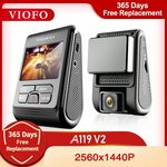 Viofo A119 V2 Dash Cam US$60.01(A$79.30), Viofo A119 V3 Dash Cam US$89.16(A$117.81) Delivered @ VIOFO Official Store AliExpress