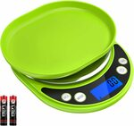 Brifit Food Scale, 3000g Digital Kitchen Scale $20.99 + Delivery @ AMIR&ORIA Direct via Amazon AU