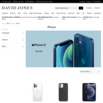 $100 off Selected Apple iPhone 12 64GB $1249, 128GB $1329, 256GB $1499 in-Store, C&C, Delivered @ David Jones