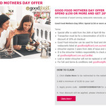 20% off $150+ Spend @ Good Food Restaurant Gift Card