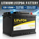 Atem Power 125Ah 12V Lithium Battery Lifepo4 $484.46 ($473.06 eBay Plus) Delivered @ Vicoffroad eBay