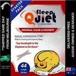 SleepQuiet Nasal Strips 44pk x 3 $26.97 (Save $18) Delivered @ SleepQuiet via Amazon AU