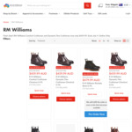 RM Williams Comfort Craftsman & Dynamic Flex Craftsman Boots $459.99 (RRP $595) (Free Shipping) @ Oz Australia