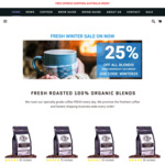 25% off All Blends + Free Express Shipping @ Airjo Coffee Roasters