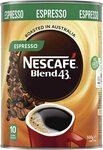 NESCAFÉ Blend 43 Espresso Instant Coffee 500g $14.00 / $12.60 S&S + Delivery (Free w $39 Spend/Prime) @ Amazon AU