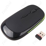 Wireless Optical Mouse 2.4GHz-1600DPI Mini Hidden USB Receiver, under $5 FREE Delivery @ TinyDeal