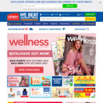 Free Fast Delivery with No Min Spend (Excludes Medicine) @ Chemist Warehouse (Select Locations)