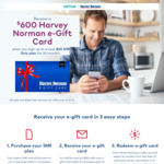 Optus Mobile Plan $65/Month for 12 Months, 60GB + $400 Harvey Norman Gift Card @ Optus