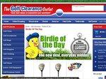 Birdie of The Day: Golf Fairway Woods (Random) $5