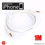 1M 3.5mm Audio Cable for iPhone to Car Stereo Audio AUX - Gold Plated 3.5mm Jack $1.00 Shipped