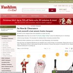 25% - 75% off Selected Santa Suits, Elf and Christmas Costumes