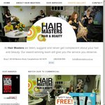 FREE Vitafive Bundle ($49.95) with Every Service over $100 - HAIR MASTERS (Campbelltown, SA)