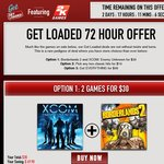 [Get Games PC] XCOM Enemy Unknown & Borderlands 2 Double Pack $30 USD or 12 Games $48 USD
