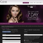 FREE Shampoo & Conditioner SAMPLE from Clear Scalp & Hair Beauty Therapy - 7 Day Challenge