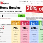 Spintel ADSL2+ Receive 20% off Home Bundle Plans for The Life of Your Contract July Only!