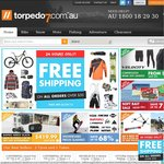 Free Shipping & $10 Discount for Orders over $50 at Torpedo7 (Bike/Snow/Skate/Fish)