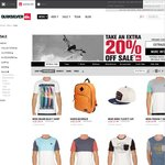 Quiksilver Online - Take Extra 20% off Sale Items - Min. $50 Spend