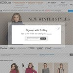$20 off $50 Spend + Free Delivery @ Ezibuy (Mens, Womens & Kids Clothing and Homewares)
