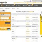 Perth One Way ex Melb $101.95, Syd $121.95, Return ex Melb $203.90, Syd $243.90 @ TigerAir