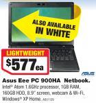 Asus Eee PC 900HA Netbook -  $577 Each at Harvey Norman