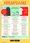 Save $15 off Every $75 on Small Appliances @ Myer + Other 5 Day Festive Offers