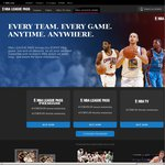 15% off NBA League Pass Premium 10% off Normal League Pass