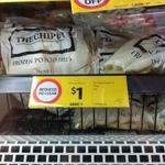 Mr Chip Straight Cut 1kg $1 (Was $2) @ Coles Melbourne Central